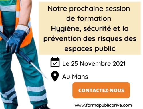 PROPRETÉ URBAINE : l'hygiène, de la sécurité et de la prévention des risques en propreté urbaine – LE MANS